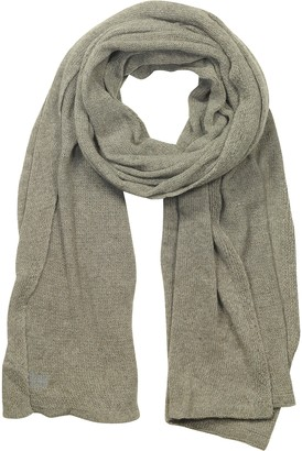 Mila Schon Solid Viscose, Cashmere and Wool Blend Stole