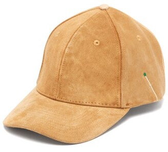 Nick Fouquet Suede Baseball Cap - Mens - Brown