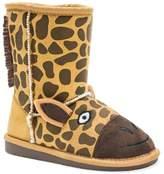 Muk Luks Animal Faux Fur Lined Boot (Toddler & Little Kid)