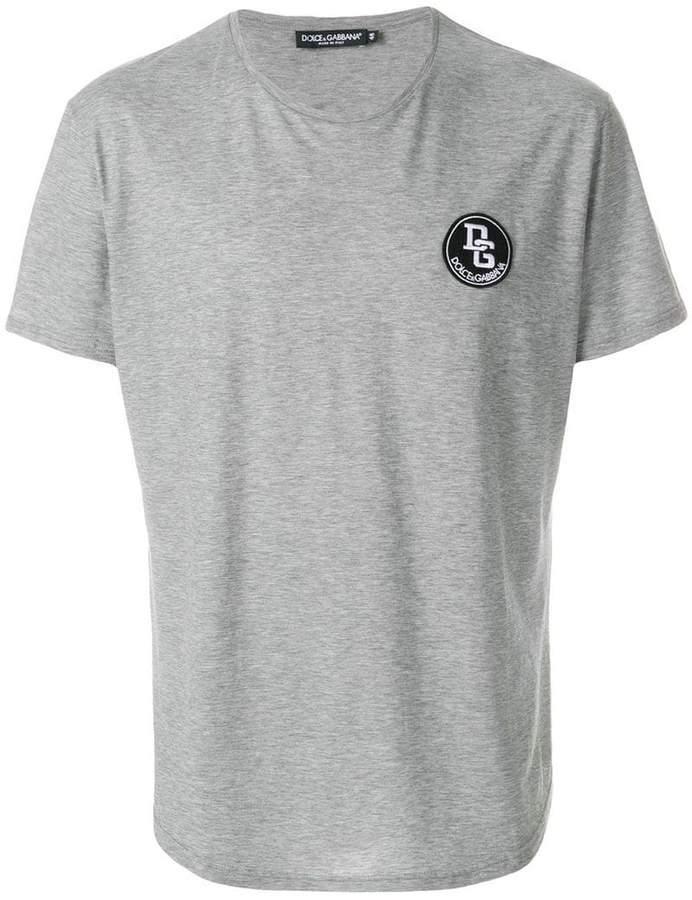 Dolce & Gabbana logo patch T-shirt