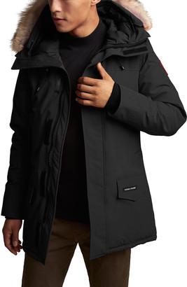 Canada Goose Men's Langford Arctic-Tech Parka Jacket with Fur Hood - Fusion Fit