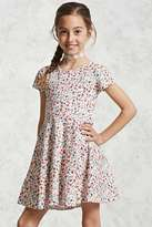 Forever 21 FOREVER 21+ Girls Floral Print Dress (Kids)