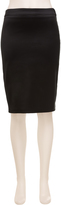 Max Studio Satin Stretch Pencil Skirt