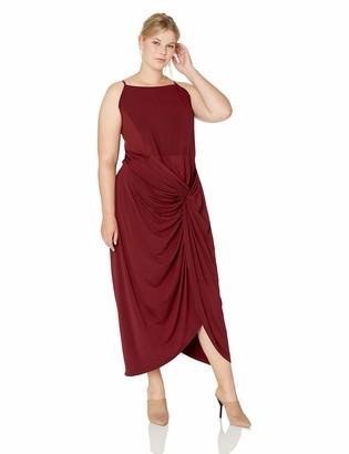City Chic Women's Apparel Women's Plus Size Dress Athena Drape