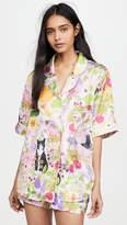 Karen Mabon Allotment Short Sleeve Pajama Set