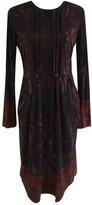 Etro Purple Wool Dress for Women