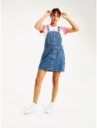 Tommy Hilfiger 100% Recycled Cotton Overall Dress
