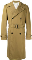 Joseph belted trench coat - men - Cotton/Viscose - S