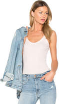 ATM Anthony Thomas Melillo Modal Rib Tank in Pink. - size L (also in M,S,XS)