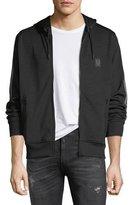 Belstaff Hooded Zip-Front Track Jacket