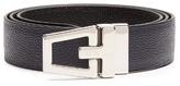 Tod's Reversible Grained-leather Belt
