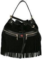 Love Moschino fringed shoulder bag