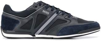 HUGO BOSS panelled low-top sneakers
