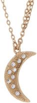 Melinda Maria Shiny Moon & Star Necklace
