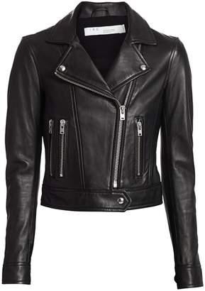 IRO Hartley Leather Moto Jacket