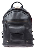 Will Leather Goods Men's 'Silas' Backpack - Black