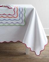 """Matouk Lanai Tablecloth, 108"""" Round"""