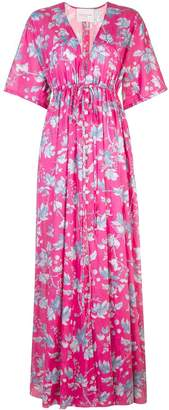 Carolina Herrera floral print maxi dress