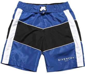 Givenchy Logo Printed Swim Shorts