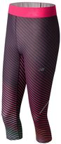 New Balance Women's Accelerate Printed Performance Capri Leggings