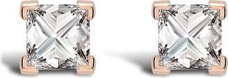 Pragnell 18kt rose gold RockChic diamond stud earrings