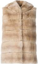 Yves Salomon Rabbit Fur Vest