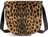 Alexander Wang 'Mini Lia' Cheetah Print Genuine Kangaroo Fur Crossbody Bag