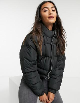 Brave Soul cropped padded jacket