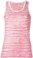 Majestic Filatures striped tank top - women - Linen/Flax - I
