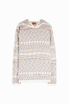 Missoni Hooded Towelling Jumper