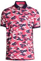Greyson Camo-Print Polo Shirt