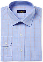 Club Room Men's Classic/Regular Fit Pinpoint Glen Plaid Dress Shirt, Only at Macy's