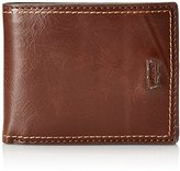 Levi's Men's Slimfold Wallet with Stitch Detail