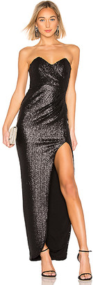 Nookie Adele Sequin Gown
