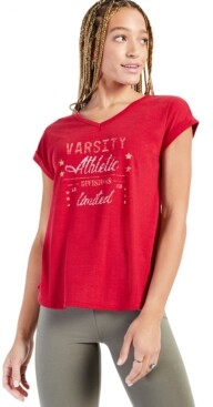 Style&Co. Style & Co Varsity Graphic T-Shirt, Created for Macy's