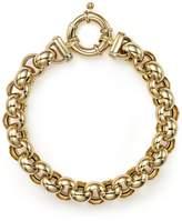 Bloomingdale's 14K Yellow Gold Medium Rolo Bracelet - 100% Exclusive