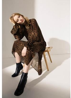 Lily & Lionel Safari Tobacco Dakota Dress - xsmall