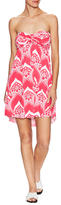 T-Bags LosAngeles Printed Strapless Dress