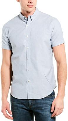 Theory Silk-Blend Woven Shirt