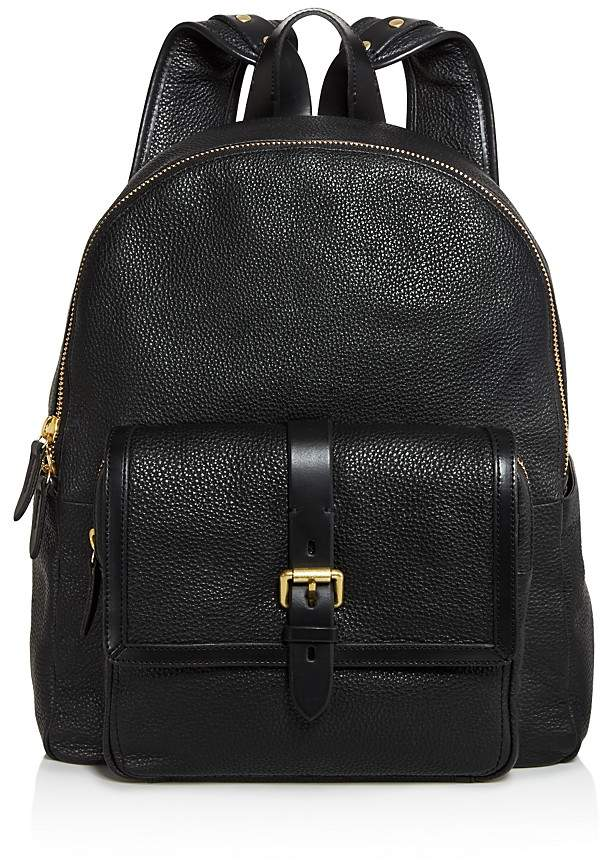 Cole Haan Brayton Pebbled Leather Backpack