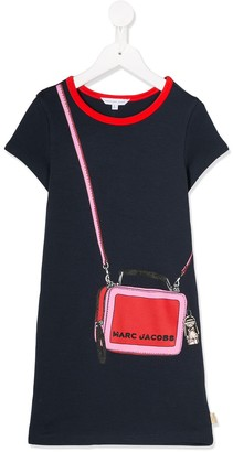 Little Marc Jacobs purse print T-shirt dress