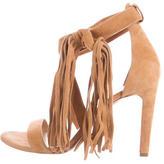 Chloé Fringe Suede Sandals