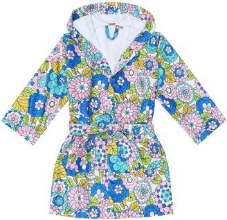 Dodo Bar Or Kids Floral robe