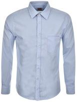 BOSS ORANGE HUGO Classy Shirt Blue