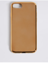 M&S Collection iPhone 7 Metallic Phone Case