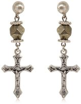 Givenchy Crucifix Earrings