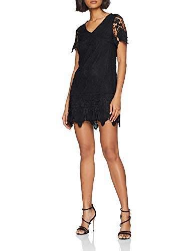 Yumi Women's DRES Lace Dress, (Black 18), 8 (Size:8)