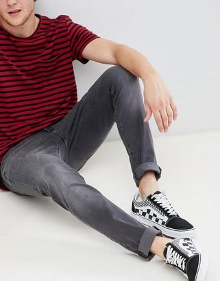 Wrangler bryson skinny jeans gray zone