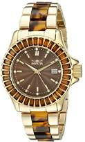 Invicta Women's 17943 Angel Analog Display Swiss Quartz Two Tone Watch