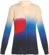 Marco De Vincenzo Sun-print silk shirt